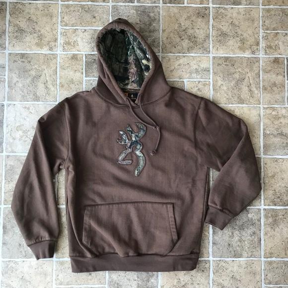 4072bbb9909 Browning Other - Browning Buckmark Camo Sweatshirt